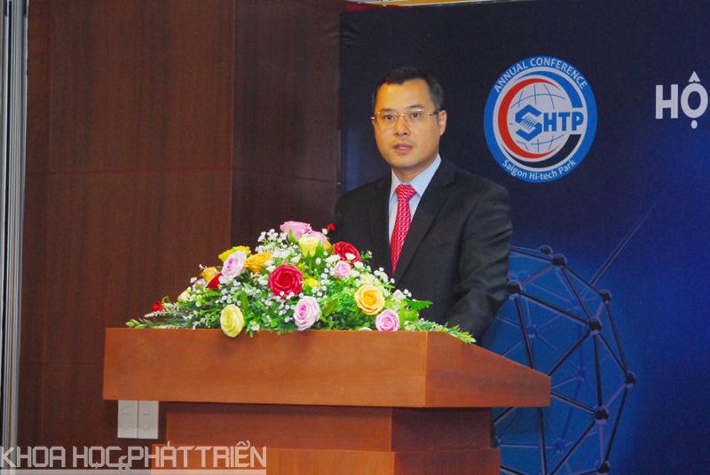 Thứ trưởng Bộ KH&CN Phạm Đại Dương phát biểu tại Hội nghị
