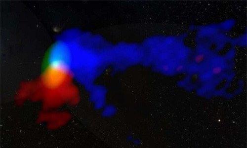 Ngôi sao nguyên thủy TMC1A tạo ra gió xoáy từ đĩa xung quanh. (Ảnh: P. Bjerkeli et al).
