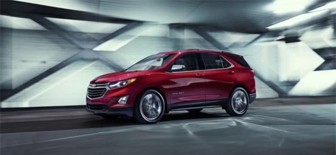 Chevrolet Equinox crossover 2018 - Ảnh: GM
