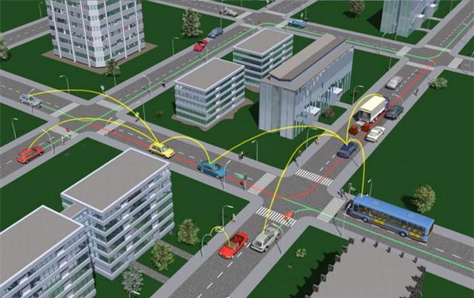 Công nghệ giao tiếp tự động giữa các xe (V2V) - Ảnh: ExtremeTech