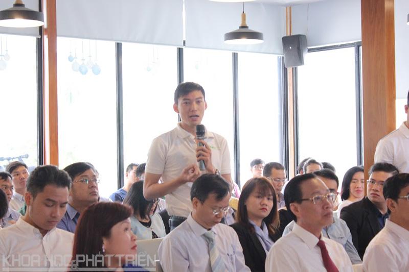 Chương trình hỗ trợ ĐMST và Khởi nghiệp được khá nhiều các bạn trẻ quan tâ,