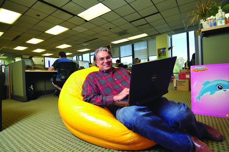 Peter Relan - nhà sáng lập vườn ươm YouWeb- đã có quyết định đầy táo bạo khi đầu tư vào GotIt!