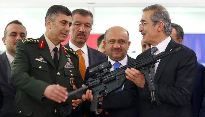 Súng trường tấn công MRT-76 của Thổ Nhĩ Kỳ