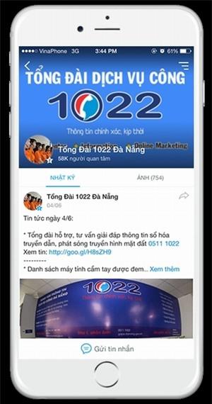 Đà Nẵng từng là tỉnh tiên phong ứng dụng Zalo trong công tác hành chính.