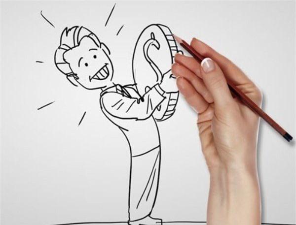 Có nhiều bạn hễ thấy giấy bút là tiện tay vẽ vời, kí tên