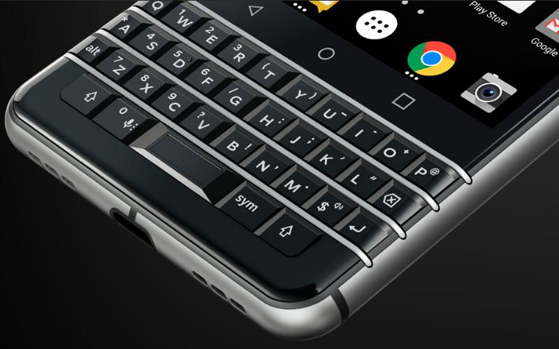 Hình ảnh của Blackberry KeyOne lộ diện trước giờ công bố.