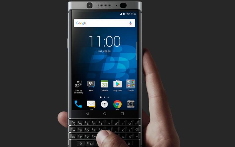 Chiếc Blackberry KeyOne được cho là sử dụng hệ điều hành Android 7.1