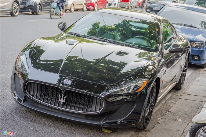 Xe hiem Maserati GranTurismo MC Stradale hon 9 ty tai Ha Noi hinh anh 1