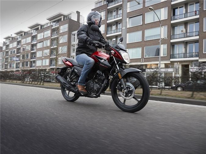 Yamaha YS125 - nakedbike cho nguoi moi choi hinh anh 11