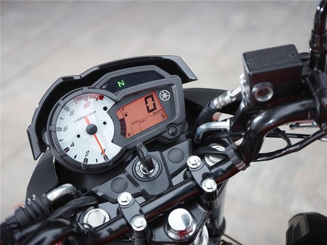 Yamaha YS125 - nakedbike cho nguoi moi choi hinh anh 6