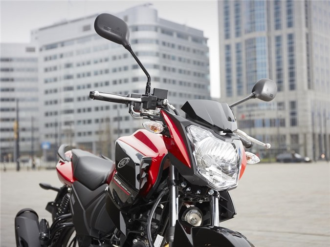 Yamaha YS125 - nakedbike cho nguoi moi choi hinh anh 7
