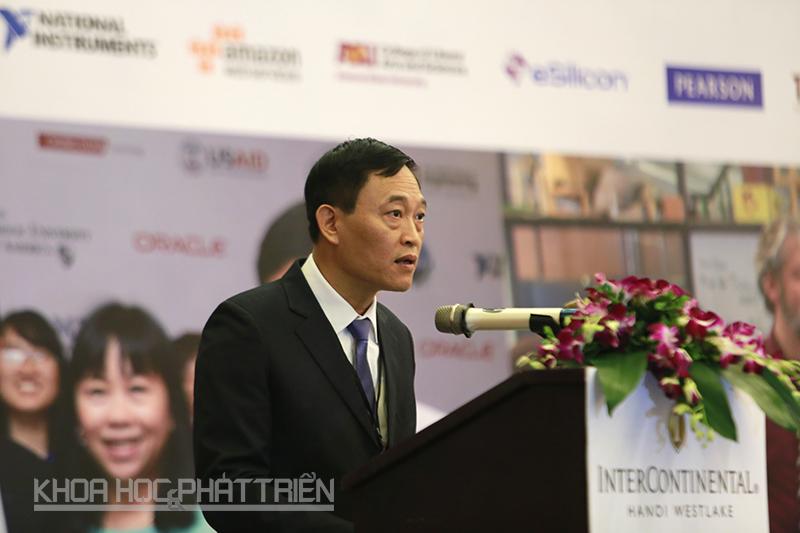 Thứ trưởng Trần Văn Tùng phát biểu tại Hội nghị. Ảnh: Loan Lê