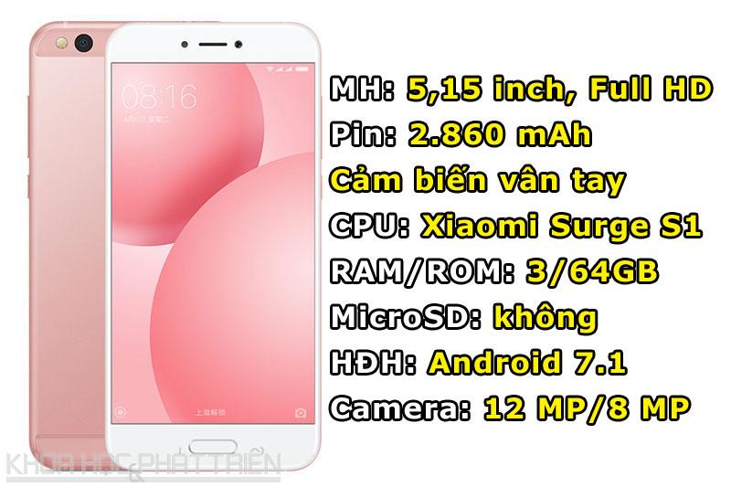 Xiaomi Mi 5c.