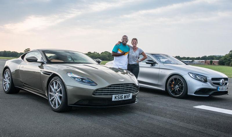 Aston Martin DB11 (trái) và Mercedes-AMG S63 Coupe.