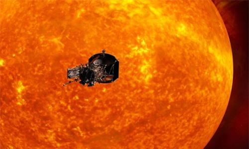 NASA gửi tàu vũ trụ Solar Probe Plus tới Mặt Trời vào năm 2018. Ảnh: Live Science