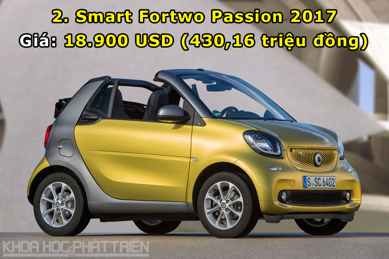 2. Smart Fortwo Passion 2017.