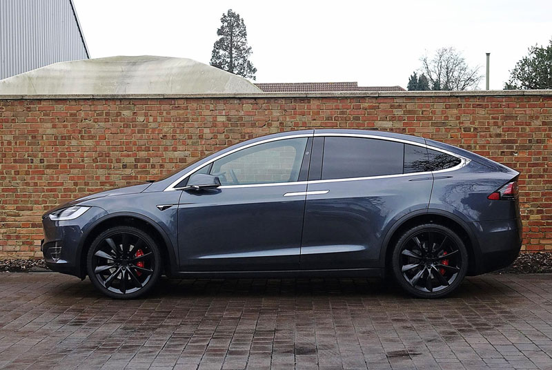 7. Tesla Model X P100D 2017.