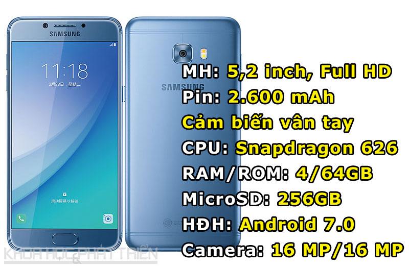 Samsung Galaxy C5 Pro.