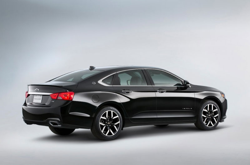 Xe sedan cỡ lớn tốt nhất: Chevrolet Impala.