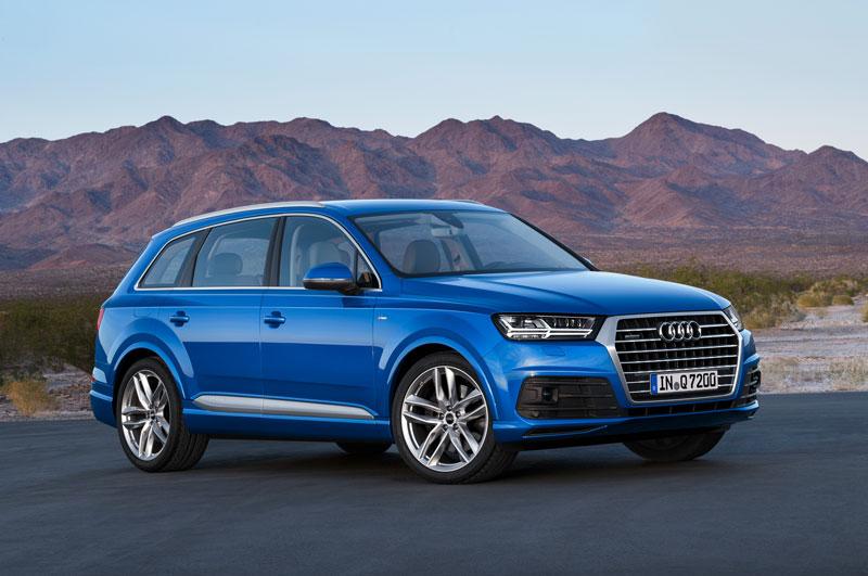 Xe SUV hạng sang tốt nhất: Audi Q7.
