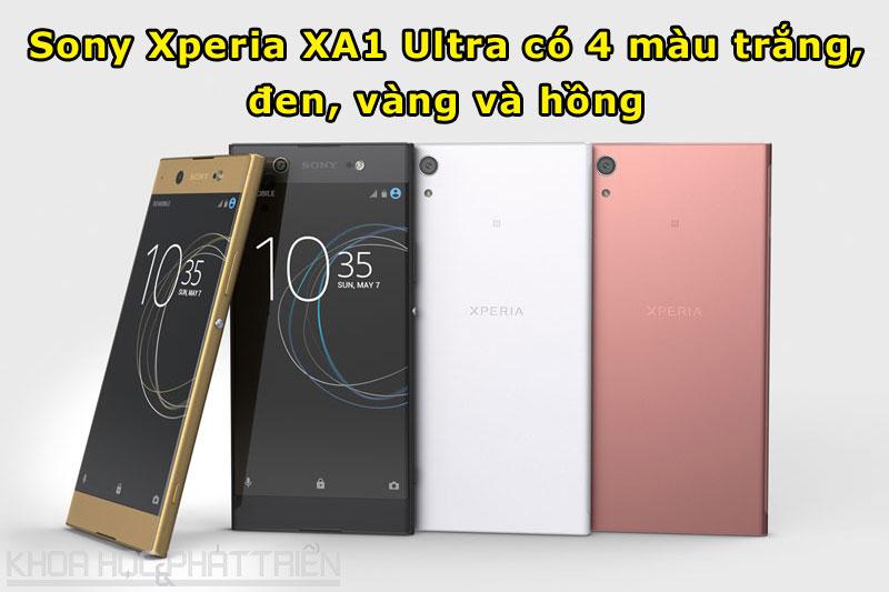 Giá bán và thời điểm lên kệ của Sony Xperia XA1 Ultra chưa được hé lộ.