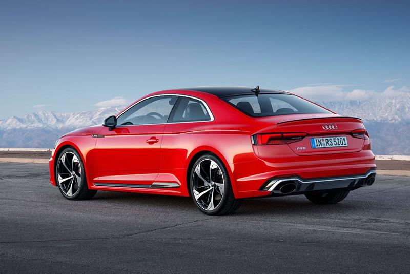 10. Audi RS 5 2017.