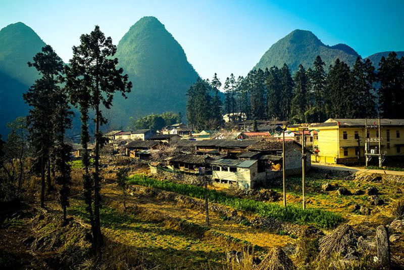Đây là đặc trưng rất lớn của Công viên địa chất cao nguyên đá Đồng Văn nằm trong hệ thống công viên địa chất toàn cầu. Ảnh: Cristal Tran.