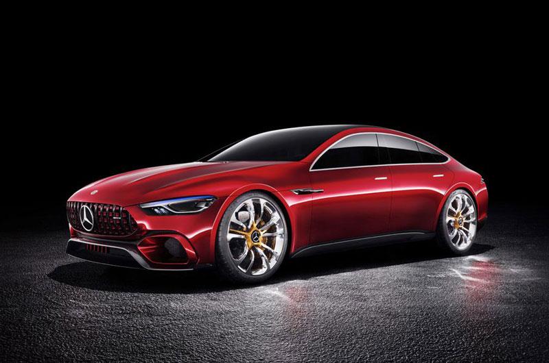 4. Mercedes-AMG GT Concept.