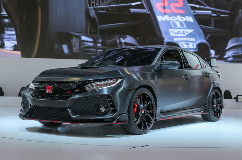 6. Honda Civic Type R 2017.