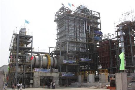 Nhà máy xử lý chất thải công nghiệp phát điện tại Khu liên hiệp Xử lý chất thải Nam Sơn (Hà Nội) sử dụng công nghệ tiên tiến của Nhật Bản. Ảnh: Báo Xây dựng