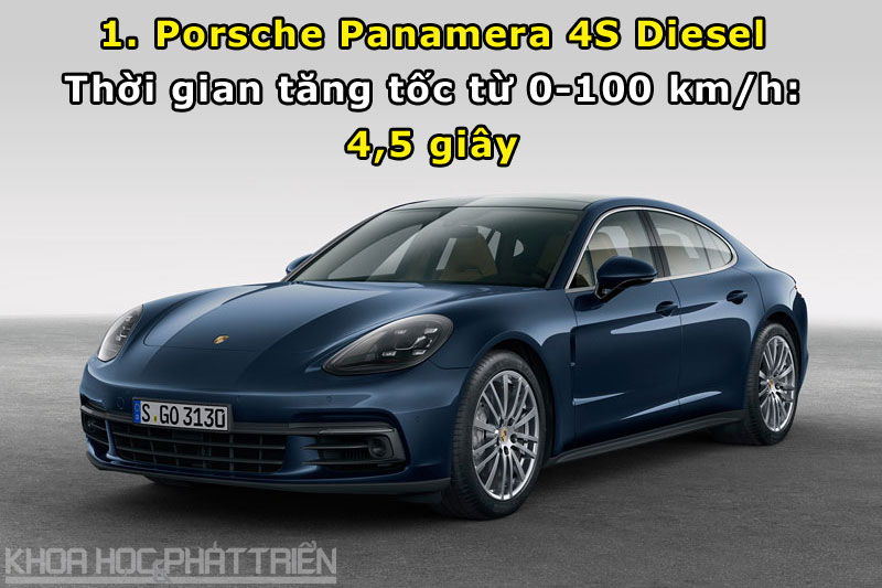 1. Porsche Panamera 4S Diesel.