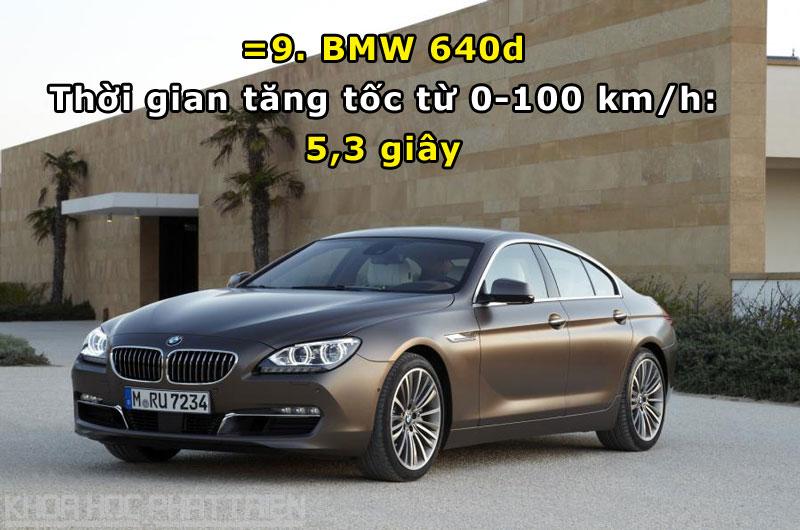 =9. BMW 640d.