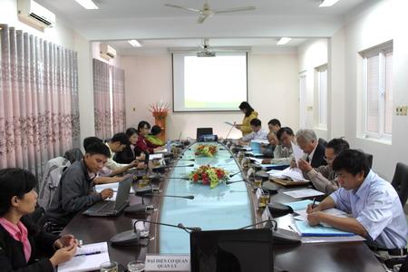 Quang cảnh buổi nghiệm thu. Ảnh: Sở KH&CN Đắk Lawsk.
