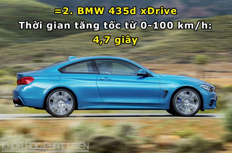 =2. BMW 435d xDrive.