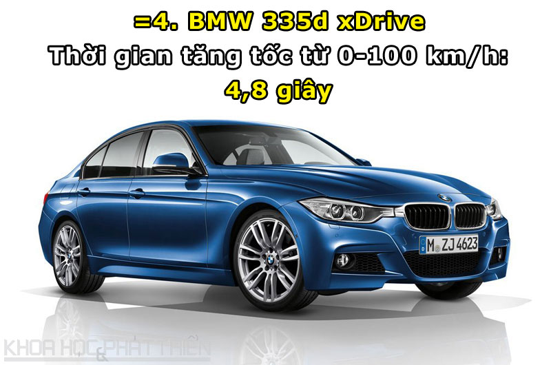 =4. BMW 335d xDrive.