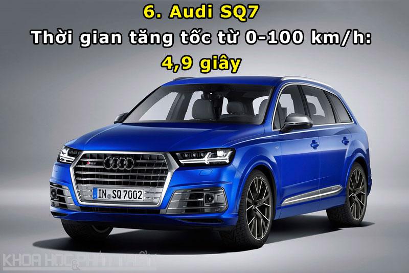 6. Audi SQ7.