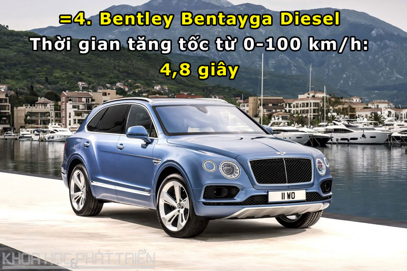 =4. Bentley Bentayga Diesel.