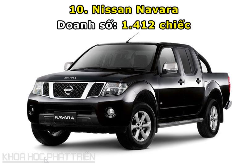 10. Nissan Navara.