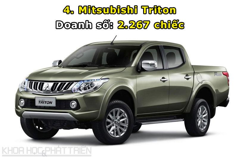 4. Mitsubishi Triton.