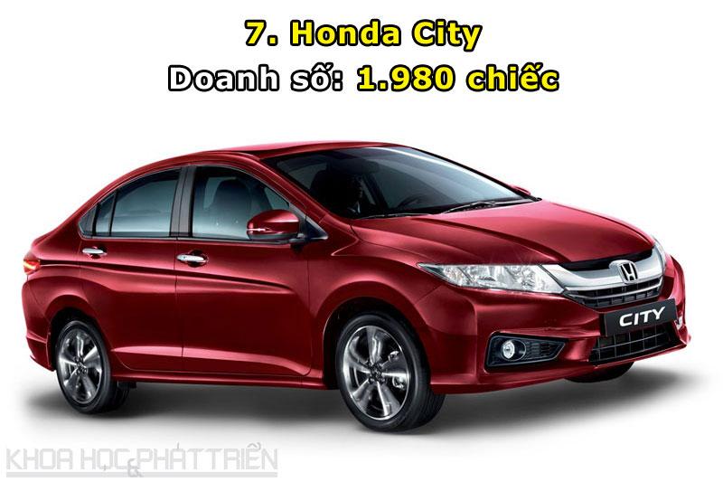 7. Honda City.