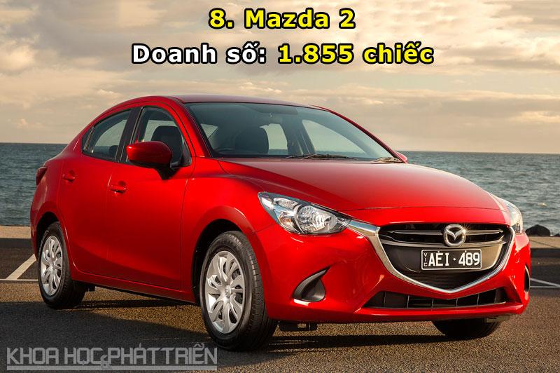 8. Mazda 2.