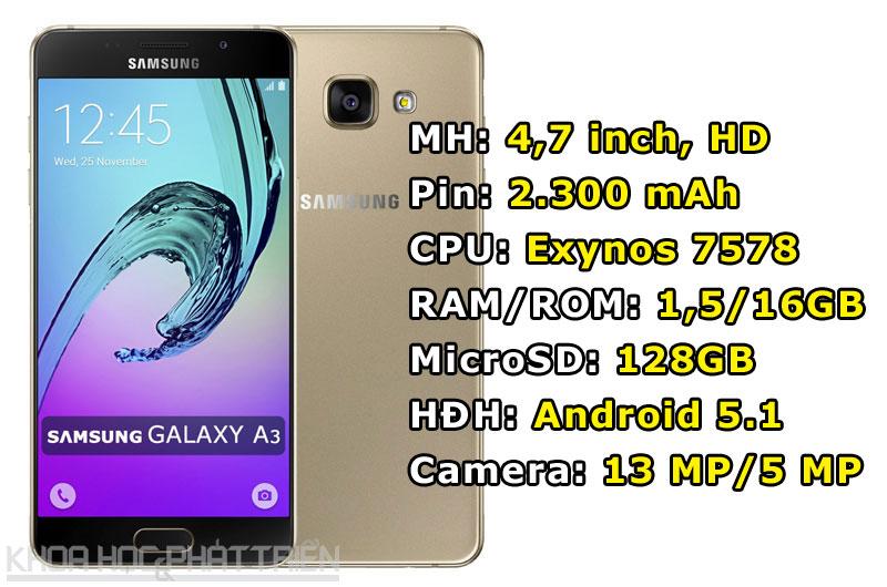 Samsung Galaxy A3 2016.