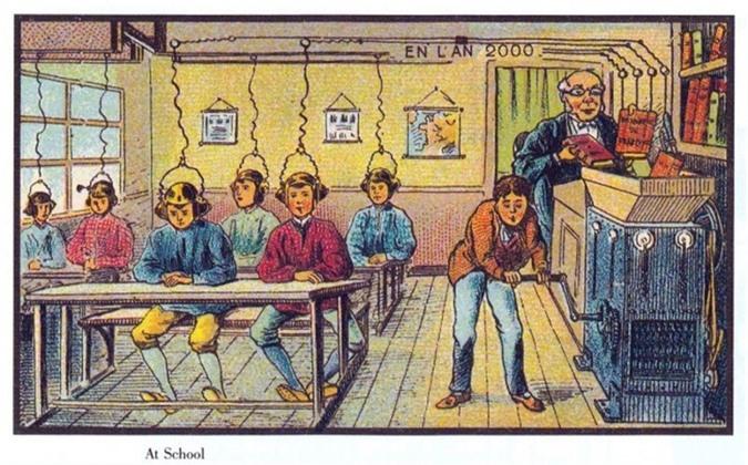 100 năm trước, con người dự đoán về tương lai thế nào? - 1