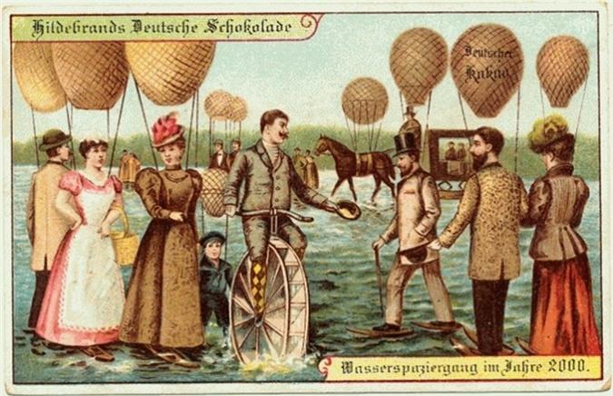 100 năm trước, con người dự đoán về tương lai thế nào? - 14