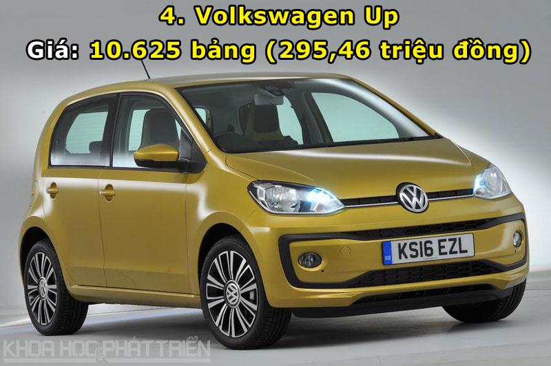 4. Volkswagen Up.