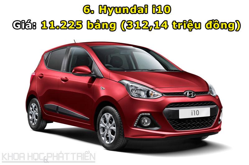 6. Hyundai i10.