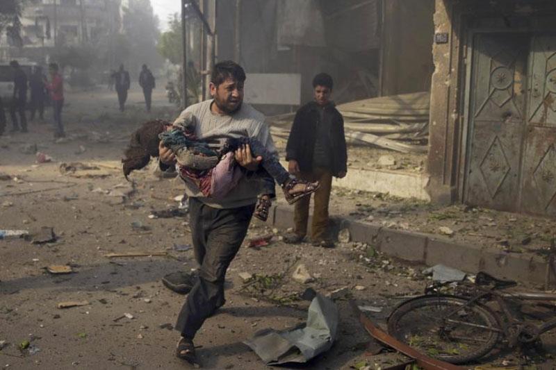 7. Damascus. Thủ đô và là thành phố lớn nhất của Syria. Cuộc sống của người dân nơi đây bị ảnh hưởng nghiêm trọng bởi các tấn công khủng bố và bạo lực.