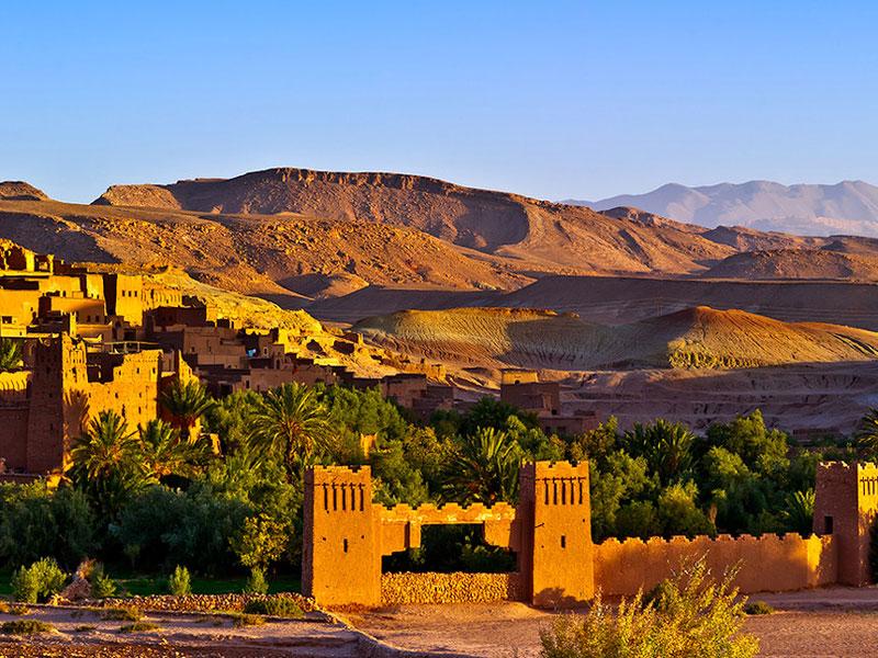 8. Morocco. Đất nước nằm ở Bắc Phi. Tới đây, du khách có cơ hội thưởng ngoạn những hòn đảo xinh đẹp hay hòa mình vào không khí náo nhiệt của những khu chợ rực rỡ sắc màu…
