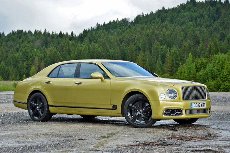2. Bentley Mulsanne Speed.