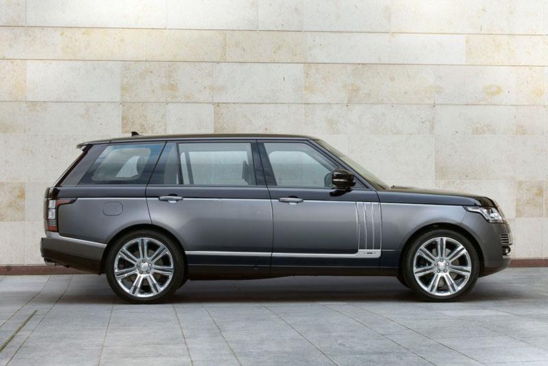3. Land Rover Range Rover.